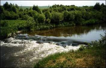 защита рек габионами